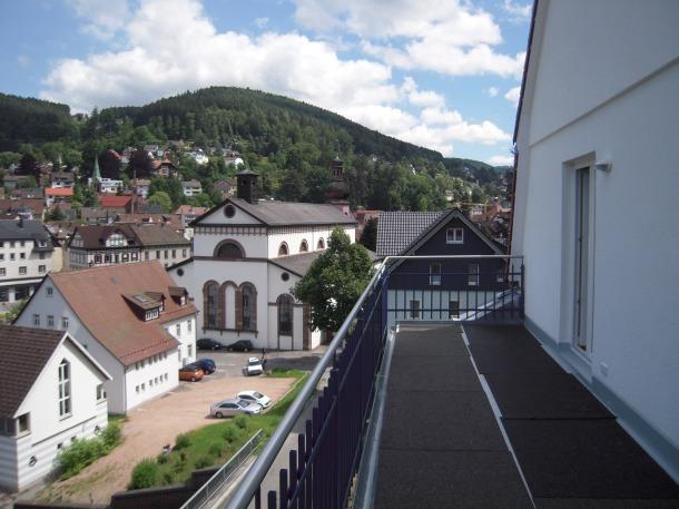 Ansicht von vorderer Terrasse