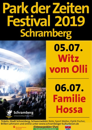 Plakat Park der Zeiten Festival 19